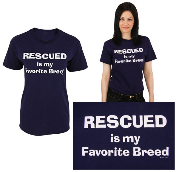 Rescued t shirt