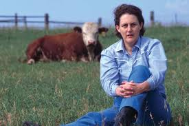 Temple Grandin loves animals.