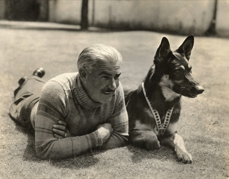 Lee Duncan and Rin Tin Tin